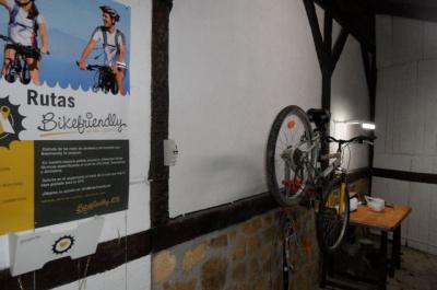Espacio para bicicletas